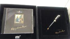"""Montblanc Kugelschreiber mit Diamant 11cm klein limitierte Auflage + CD """"Mozart"""""""