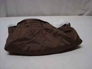 Mainstays Solid Bed Skirt, Brown, Full/Queen