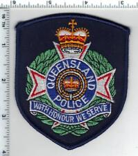 Queensland Police (Australia) Shoulder Patch from the Early 1980's