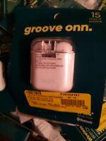 Onn True Wireless Earphones, White