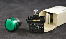 Telemecanique xa2-bv73 LAMPADA SEGNALAZIONE VERDE SPIA Push Button NUOVO OVP