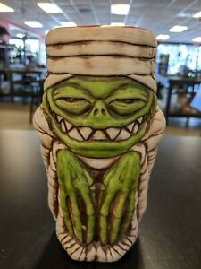 Rummy Mummy Tiki Mugs Green-NIB