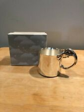 New listing Reed & Barton Silverplate Elephant Cup. New in Box.