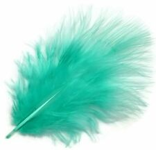 7 Grams Bright Turquoise/Marabou Fluffs / Feathers - Fishing / Crafts