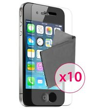10 x Films de protection Clear HD ® pour iPhone 4 / 4S