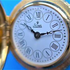 Beautiful Stowa Pendant Ladies Watch,Plated,Swiss Clockwork, Good Function