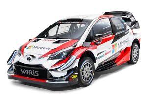 Toyota Yaris Rally - Full Size Decal Kit