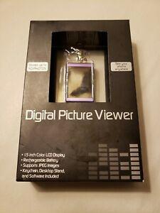 Atico DIGITAL PHOTO VIEWER - Stores Up To 50 Photos -Purple