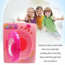 Simulation Toys Electric Washing Machine Plastic Kids Children Play House Toy NY