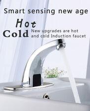 Infrarot IR Sensor Waschbecken Armatur Bad Mischbatterie Automatik Wasserhahn