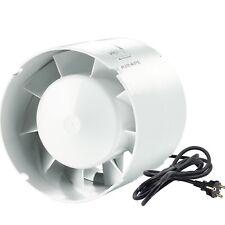 Airope,Conduit en Ligne 125 mm,Extracteur D'air Silencieux,190 m3/h,16 W