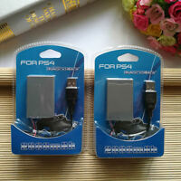 2x 2000mAh Rechargeable Battery &USB  Cable for Sony Playstation PS4 Controller