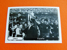 516 EQUIPE TEAM 1964 ESPAÑA COUPE FOOTBALL PANINI UEFA EURO 2012