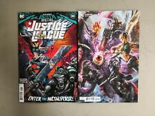 2x Justice League 53 A Sharp B Macdonald Mindhunter Death Metal Dc Comics Hot