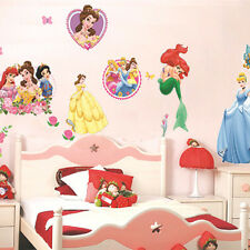 QT-0049 Princess Home Decor Art Wall Stickers For Kids Rooms Child Love Diy