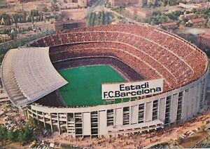 F.C. Barcelona, Nou Camp, original postcard.