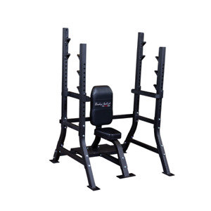 Body-Solid SOSB250 Pro Clubline Olympic Shoulder Press Bench (New)