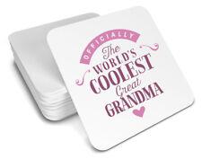 Great Grandma Gift Birthday Coaster For Her Christmas Xmas Personalised Present