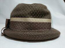 Winkelman's 100% Wool Brimmed Hat Ritz Henry Pollak, NY Netting Ribbon in Box