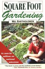 Square Foot Gardening: A New Way to Garden in Less Space with Less Work,Mel Bar