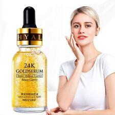 15ml Gold Essence Make Up Primer Hydrating Moisturizer Face -Serums Foil Po S1Z3