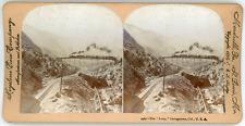 Stereo, Keystone View Company, B. L. Singley, The Loop, Georgetown, Col., U. S.