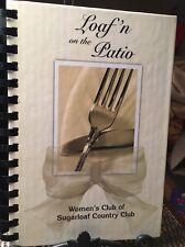 Duluth GA Loaf N On The Patio Sugarloaf Country Club Cookbook Recipe Spiral