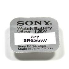 SONY 1 pile Sony 377 silver oxide 1,55V