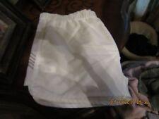 K-Swiss tennis shorts size womans X-Large White