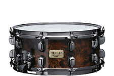 TAMA LGM146 KMB SLP SNARE DRUM 6X14 12 PLY MAPLE SHELL, OUTER PLY MAPPA BURL NIB