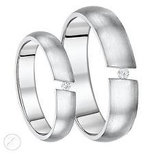Box Set Ihn & Ihr Spann Set Hochzeit Ring 5mm & 6mm