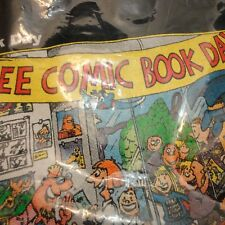 Sergio Aragones' Free Comic Book Day Shirt 2010 Black Small in Sealed Polybag S