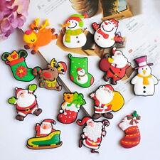Novelty Christmas Santa  Fridge Magnet Sticker Cute Funny Refrigerator Toy^ LJ