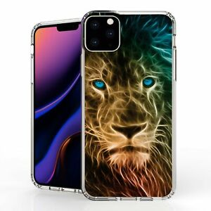 """For iPhone 11 Pro Max 6.5"""" Hybrid  Bumper Shockproof Case Electric Lion"""