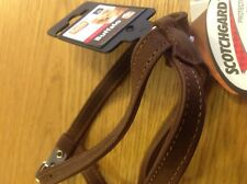 Karlie Flamingo 09905 Buffalow brown leather12 mm 30-37 cm Sewn Xs Dog harness