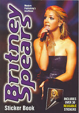 BRITNEY SPEARS  rare Sticker Book from 2000
