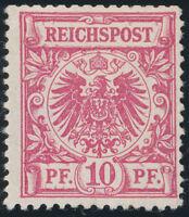 DR 1889, MiNr. 47 a, sauber ungebraucht, gepr. Jäschke-L., Mi. 320,-