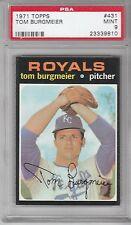 1971 Topps Baseball Tom Burgmeier #431 PSA 9