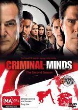 Criminal Minds : Season 2 (DVD, 2008, 6-Disc Set) R4