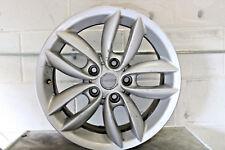 "1 Genuine Original Mini Countryman 17"" Double Spoke Alloy Wheel R61 R61 Silver"