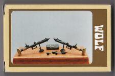 WOLF HORNET MODELS WAA 02 - 2x PIAT BRITISH ANTI-TANK WEAPON - 1/35 WHITE METAL