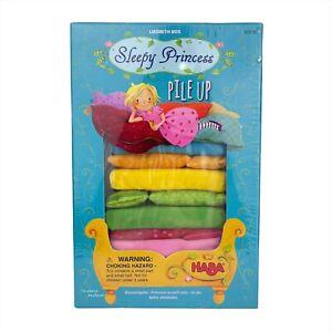 Sleepy Princess Pile Up Game HABA 303190 Liesbeth Bos