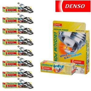 8 Pack Denso Iridium Power Spark 1987  Plugs for Chevrolet R30 7.4L 5.7L V8
