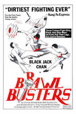 1978 BRAWL BUSTERS VINTAGE ACTION MOVIE POSTER PRINT 36x24 9 MIL PAPER