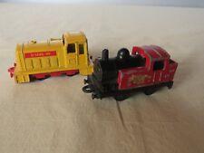 Matchbox Steam Locc Made in England rot/schwarz- Shunter Lok Made in China gelb