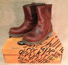 Dr. Martens Dryden Rigger Leather Boots 12785220, Sz.9, New in Box!