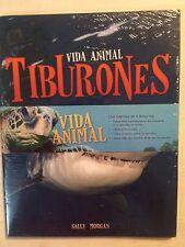 VIDA ANIMAL DELFINES Y TIBURONES por Sally Morgan 4 libros (NUEVOS)