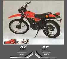 Yamaha XT 250 typ 3y3 1980 - 1990 Adesivi Grafiche Stickers Decal