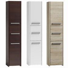 Badschrank 3 Türen Badezimmerschrank Hochschrank Badmöbel Schrank Modern 170x30c