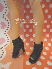 Doll shoes~LIV Doll Roman Style Black color Heel Sandal shoes 1PAIR #LS-706 NEW